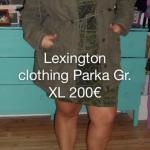 Lexington clothing Parka